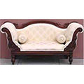 Antique Style Wooden Sofa